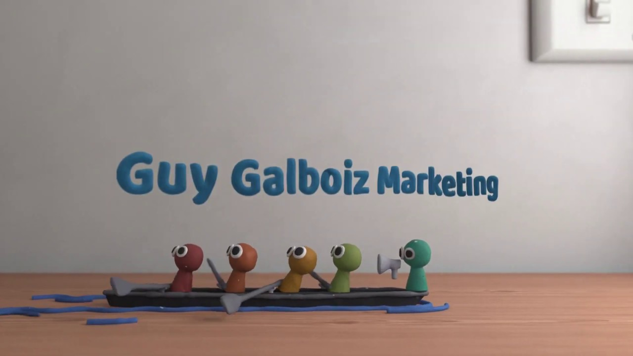 Marketing strategy, tech and management for guy Galboiz