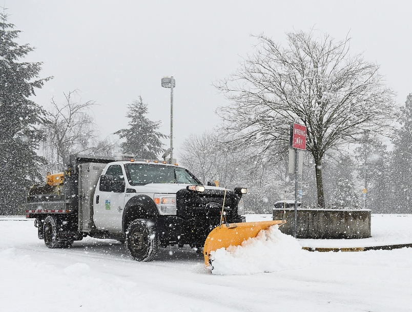 Point Of View: Did Burnaby Do A 'Horrible' Job Of Snow Removal?
