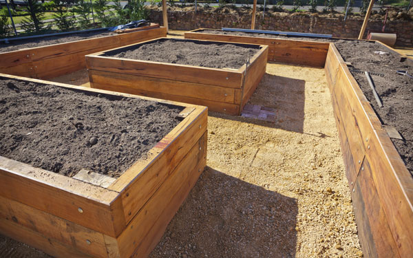 Are Galvanized Steel Backyard Beds Protected?